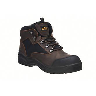 Chaussures de sécurité hautes Onyx imperméables marron Site taille 44