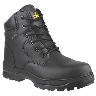 Chaussures de sécurité montantes sans métal Amblers FS006C noires taille49