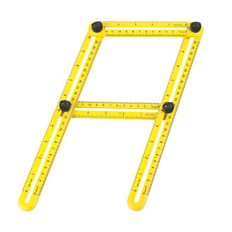 "Règle multi-angle 12"" x6"""