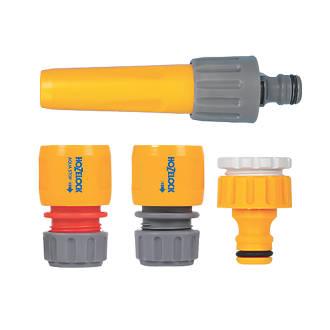 Ensemble de base pour pulvérisateur et raccords de tuyau Hozelock 4pièces