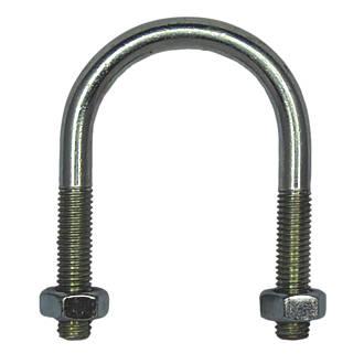 Boulon enU en acier zingué brillant Rawlplug M10 x75mm