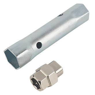 Assortiment de 2clés à écrous de robinet Monument Tools 27x 32mm