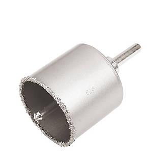 Trépan revêtement carbure hex Ø73mm universel